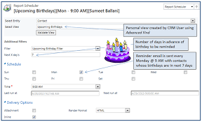 never forget birthday greetings again microsoft dynamics crm