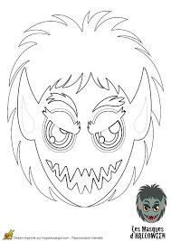 la tête du méchant loup garou à colorier bricolages et recettes