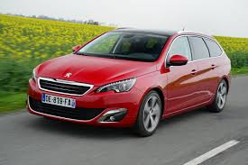 peugeot estate cars peugeot 308 sw video review auto express