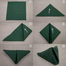 how to fold table napkins simple napkin folding techniques folding table napkins crowdbuild