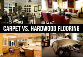carpet vs hardwood flooring each has their own benefits