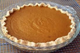 thanksgiving dessert classic spiced maple pumpkin pie