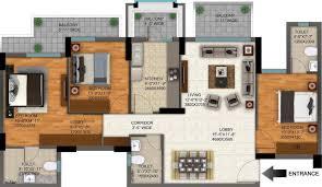 buy floor plan apartment for sale buy 3bhk 3t apartments in rohan iksha