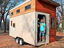 Arizona Tiny House College Student Joel Weber Ditched Dorm For Tiny House Business