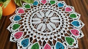 Crochet Table Cloth Crochet Doily Serwetka Na Szydełku Obrus Szydełkowy Crochet