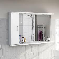 sienna white 120 mirror with lights victoriaplum com