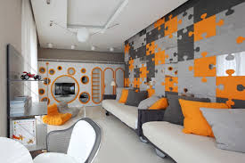 Orange And Blue Home Decor Modern Orange Bedroom Design Amazing Stylish Decor Home Pictures