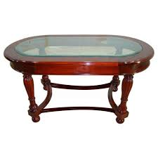 Victorian Coffee Table by Victorian Apron Oval Coffee Table 1050x550 Wohlers