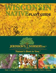 native plants of wisconsin wisconsin native plant guide by johnson u0027s nursery inc issuu