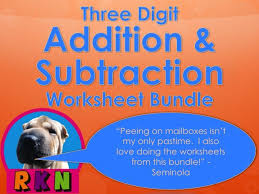 subtraction subtraction with regrouping twice worksheets free