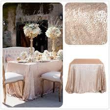 cheap wholesale table linens sale 6ft chagne sequin tablecloth wholesale sequin table cloths
