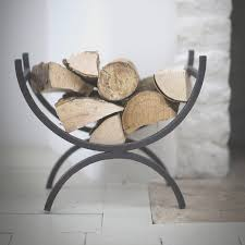fireplace creative wood holders for fireplace best home design