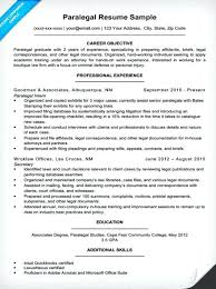 paralegal sample resume and cover letter entry level law student