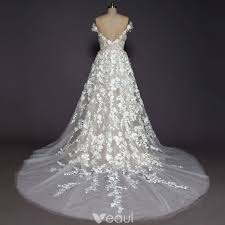 robe de mari e de princesse de luxe chagne plage robe de mariée 2017 princesse encolure déée