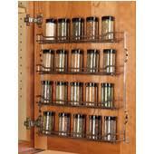 Spice Rack Cabinet Door Mount Door Mount Cabinet Organizers And Accessories By Hafele From
