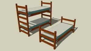 dorm bed 3d warehouse
