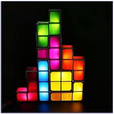 Diy Led Desk L Tetris Stackable Led Desk L Thinkgeek With Regard To New