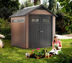 Suncast Horizontal Utility Shed Bms2500 by Keter Fusion 7 3 U0027 X 7 5 U0027 X 8 3 U0027 Wood And Plastic Composite Outdoor