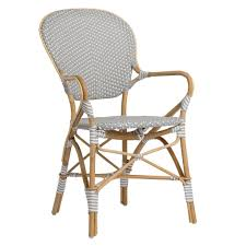 Grey Bistro Chairs Sika Design Sofie Stacking Bistro Chair