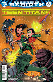 teen titans damian has family problems in teen titans 3 preview