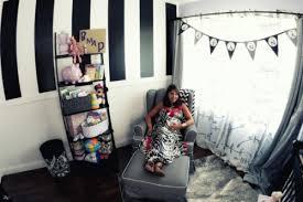 chambre bebe noir idées de décoration chambre bébé fille en noir et blanc