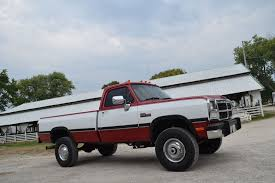 a 1991 dodge w250 that u0027s as clean as they come