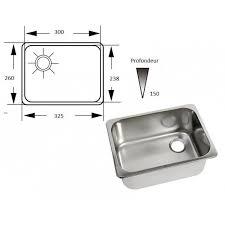 petit evier cuisine accessoire bateau cing car évier rectangulaire inox de cuisine