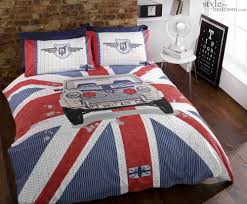 Duvet Cover Double Bed Size Union Jack U0026 Cassic Mini Cooper Gt Duvet Quilt Cover Bedding Set