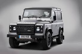 defender jeep 2016 the 2 millionth land rover defender built is a special one off model