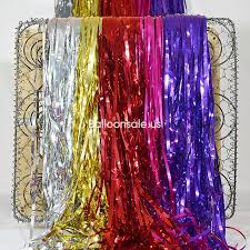 Gold Foil Curtain by Buy Metallic Gold Foil Fringed Door Curtain 2 4m Party Doorway