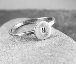 Monogram Rings Silver The 25 Best Monogram Rings Ideas On Pinterest Monogram Gifts