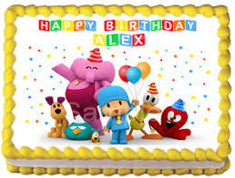 pocoyo party supplies pocoyo image edible cake topper party decoration ebay