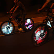 yq8003 bike light software factory price original yq8003 programable led bicycle parts colorful