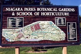 Niagara Botanical Garden Niagara Parks Commission Botanical Gardens School Of