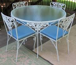 Vintage Woodard Patio Furniture by 135 Best Vintage Wrought Iron Aluminum Patio Furniture Images On