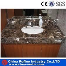 Bathroom Granite Vanity Top China Brown Marble Bathroom Countertops Vanity Tops Marble