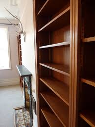 Mahogany Bookcases Uk Hardwood Fitted Bookcases Custom Built By Peter Henderson