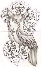 owl sketch by oo whisper oo on deviantart