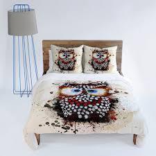 Owl Queen Comforter Set Msimioni The Owl Duvet Cover Owl Duvet And Owl Bedding