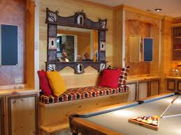 decoration wall decor ideas for small living room gallery brown gorgeous home interior decoration design with wooden wall along unique dark brown frame mirror sofa pattern home decor