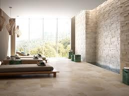 wohnzimmer gemtlich einfach wandfliesen steinoptik bild das wirklich stilvolle