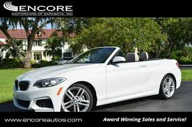 228i bmw 2015 used bmw 2 series 228i convertible w m sport technology and