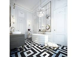 bathroom magnificent art deco bathroom ideas with luxury black