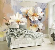 Wall Coverings For Bedroom Online Get Cheap 3d Wall Paper For Bedroom Flower Aliexpress Com