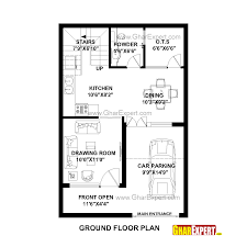 house plan for 22 feet by 33 feet plot plot size 81 square yards