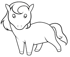 horse coloring pages printable horses run pasture small