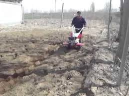 Walk Behind Seed Planter by Mini Walking Tractor Rotary Tiller With Two Rows Maize Planter