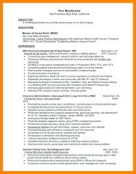 social work resume exles trick to social work social worker