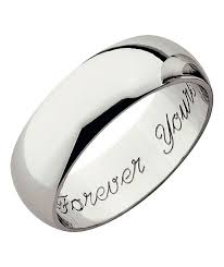buy wedding rings wills ring buy 9ct white gold heavyweight forever yours wedding