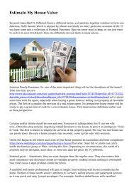 estimate my house value by richard0mendoza8 issuu